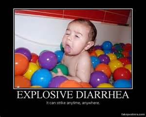 diarrhea motivational poster
