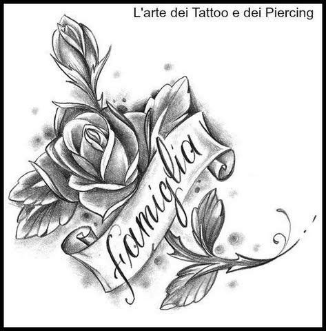rose tattoos with ribbon roses with ribbon bc possibilities