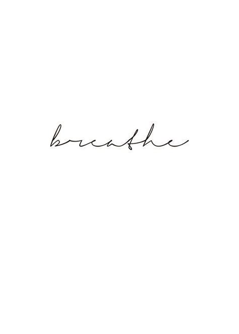 Image result for breathe cursive | This is a Board To
