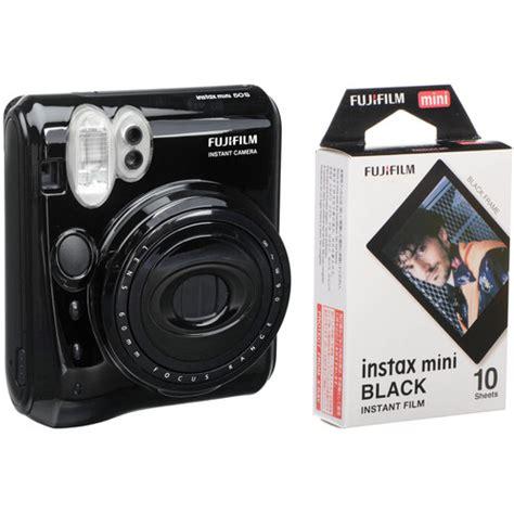 Fujifilm Instax Mini 50s Black fujifilm instax mini 50s instant with instax mini