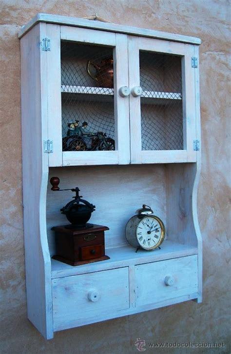 mueble alacena de madera vintage mue comprar muebles vintage en todocoleccion