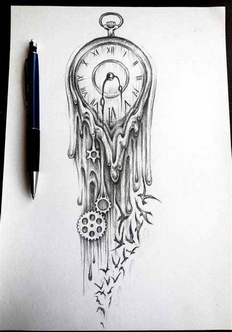 tattoo time machine the x 25 best ideas about clock tattoos on pinterest time