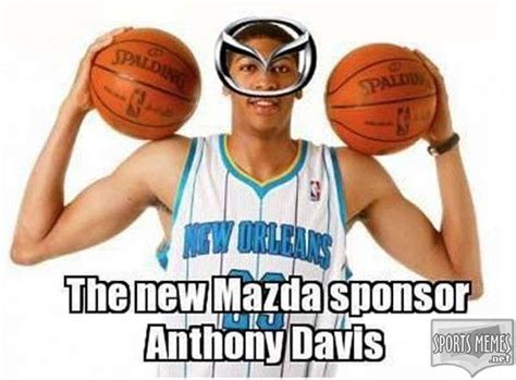 Anthony Davis Meme - unibrow basketball player memes