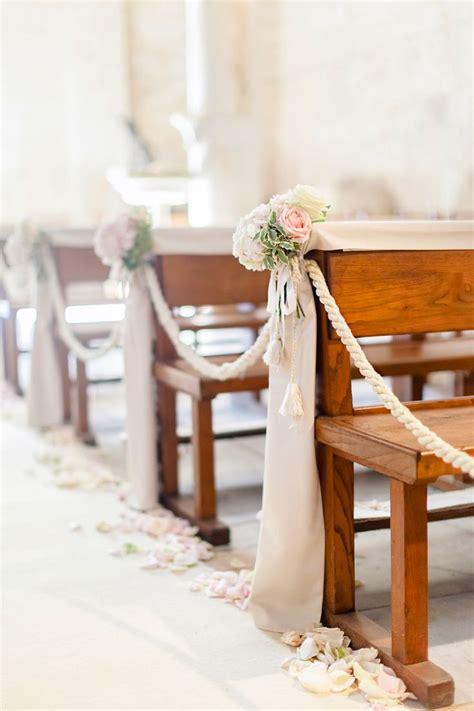 simple wedding church decorations
