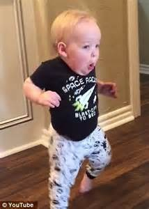 Running Baby Meme - oklahoma boy gives a hilarious reaction to his grandpa s