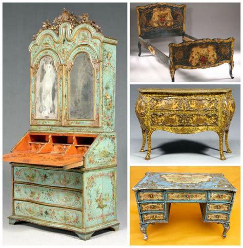 muebles el siglo muebles decorados con quot laca povera quot venecia siglo xviii