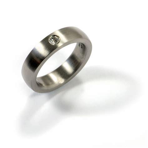 Verlobungsring Brillant by Goldschmiede Mojo Design Verlobungsring Palladium