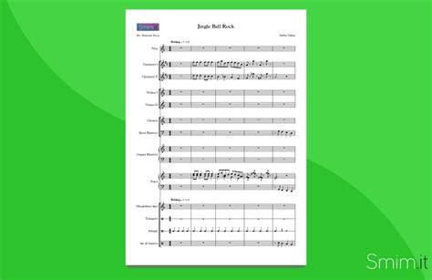 testo di jingle bell rock jingle bell rock partitura per orchestra scolastica
