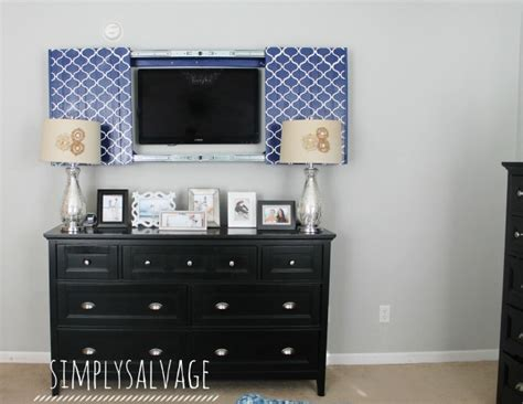 tv with doors to hide tv remodelaholic 95 ways to hide or decorate around the tv