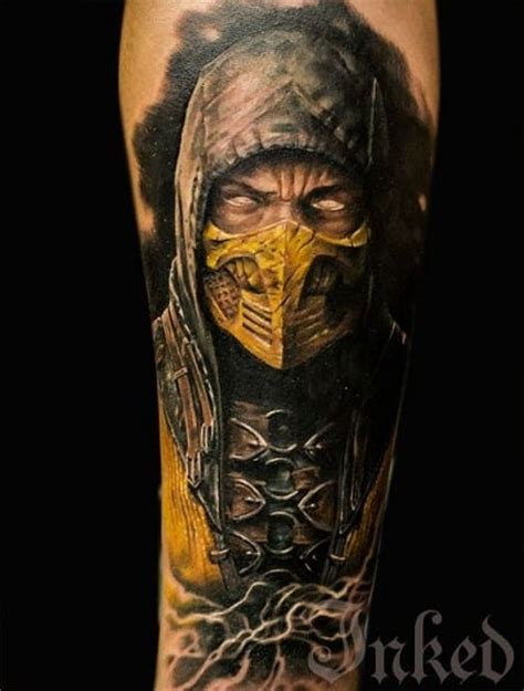 game face tattoos tattoos for gamer ideas for guys