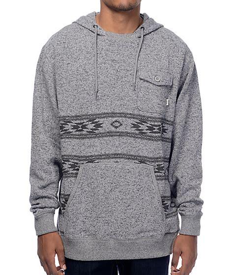 Hoodie Zipper Vans Grey vans subtropic grey hoodie zumiez
