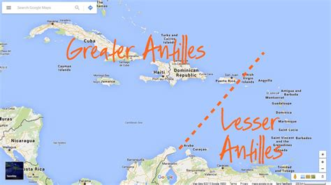 antilles islands map cruising from the greater to lesser antilles sailfeed