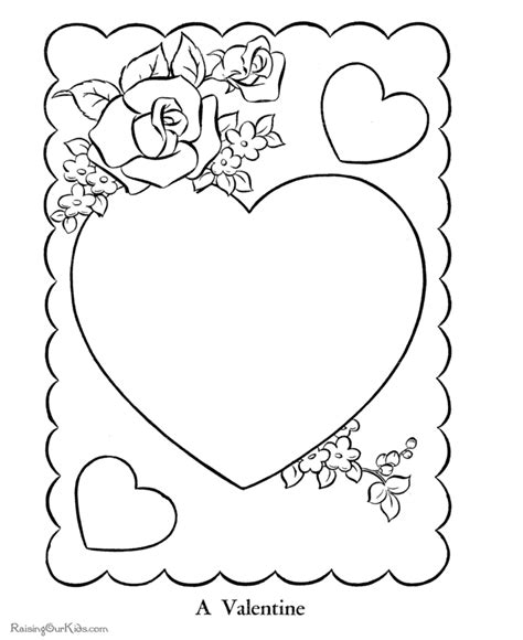 free coloring pages valentine hearts free printable valentine hearts coloring page 010