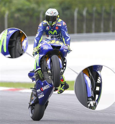 motogp ou en est  avec les carenages aerodynamiques