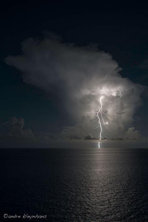 night photography ocean lightning  andre kleynhans