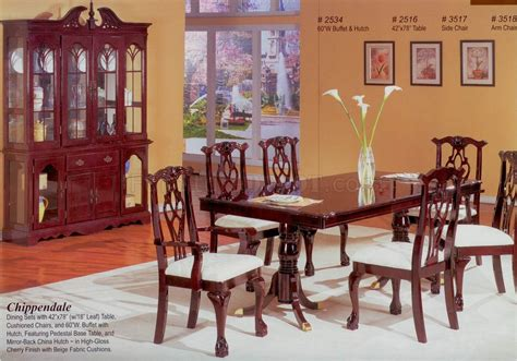 cherry dining room tables cherry finish classic formal dining room table w options