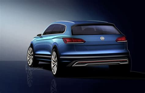 vw electric suv concept coming  shanghai show  preview production model carscoops
