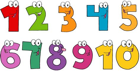 numbers clipart numbers 1 to 10 clipart clipartxtras