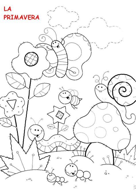 dibujos para colorear primavera dibujos de la primavera para colorear auto design tech