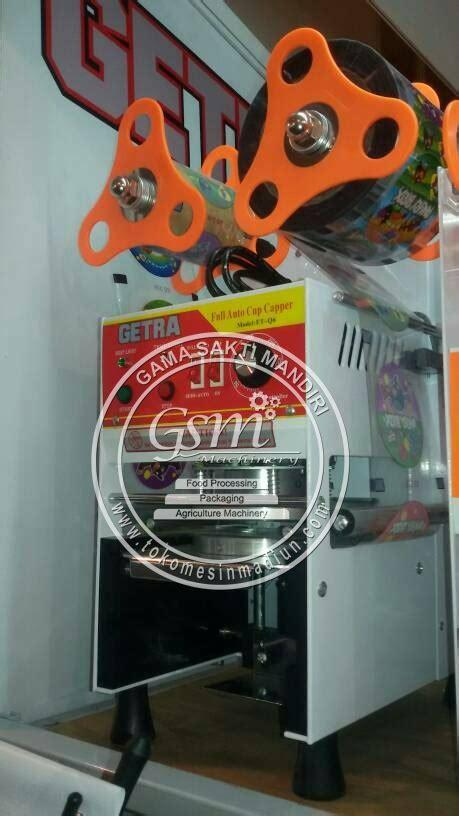 Alat Teh Poci mesin cup sealer otomatis getra toko alat mesin usaha