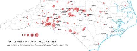 carolina industry map industrialization in carolina carolina