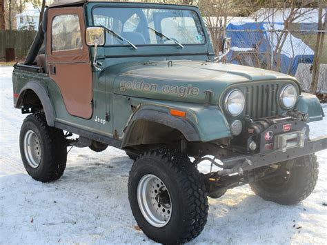 jeep cj golden 1979 amc jeep golden eagle cj5 cj 5 jeep cj lifted with