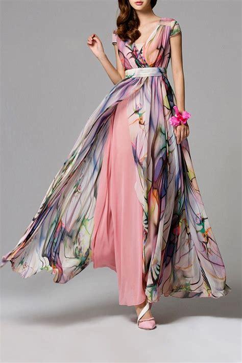 denna maxy dress split floral maxi dress clothing inspiration