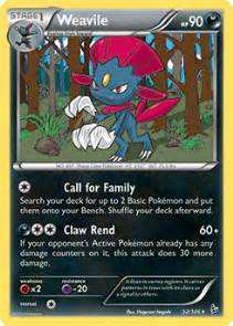 weavile deck weavile xy flashfire tcg card database