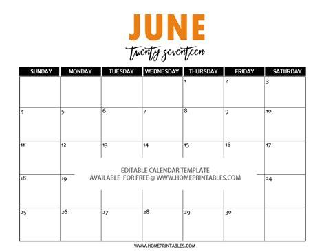 Calendar Editable Free Editable 2017 Calendar In Word Pretty Template
