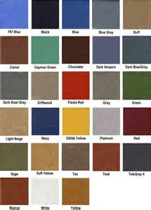 automotive color chart autos post
