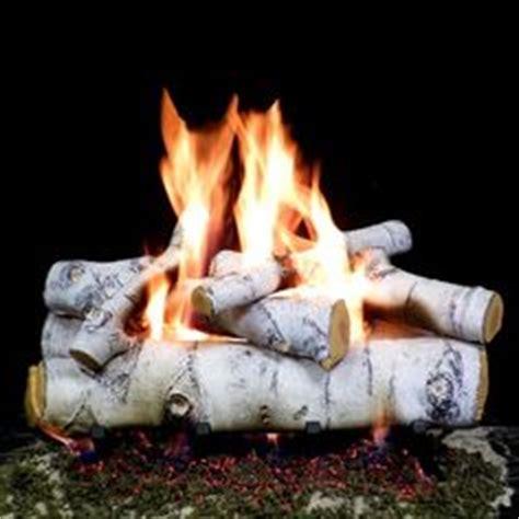 Birch Gas Fireplace Logs by Gas Fireplace Logs Birch On Gas