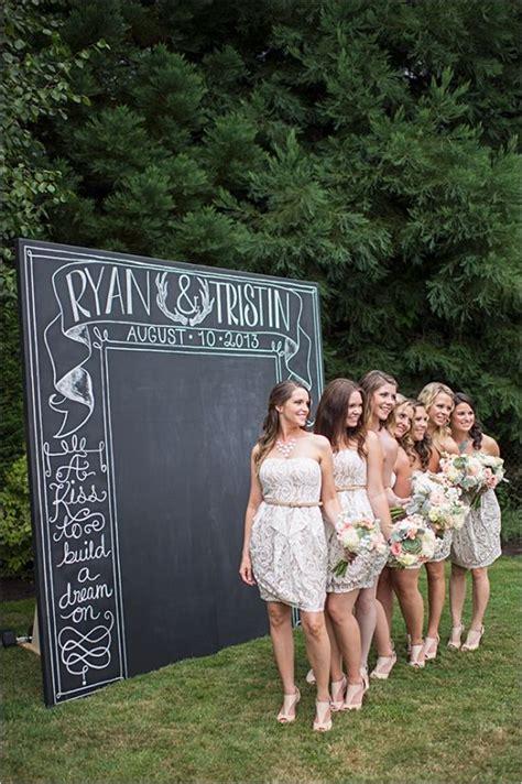 wedding backdrop board 7 wedding chalkboard inspirations the card box