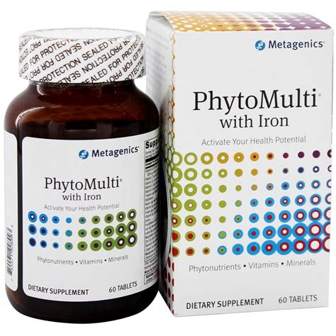 Metagenics Thermophase Detox Reviews by Metagenics Phytomulti With Iron 60 Tablets Evitamins