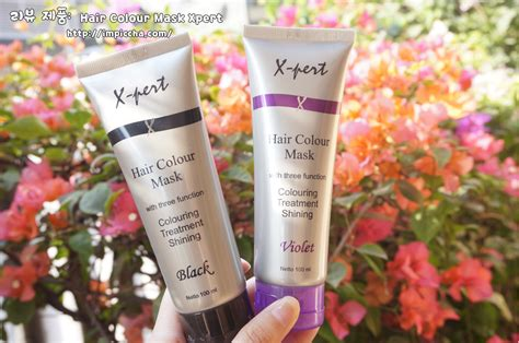 Masker X Pert by Review Hair Colour Mask Xpert Black Im Piccha