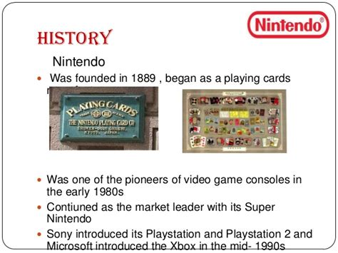 Nintendo History Essay by Marketing Study Mfacourses887 Web Fc2