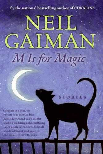 neil gaiman neil s work books m is for magic