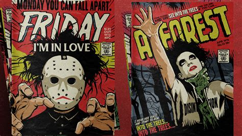 the cure best robert smith of the cure gets the retro horror comics