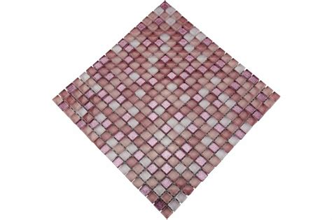 fliese rosa glasmosaik fliesen rosa pink mot23 mosaic outlet