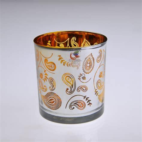 christmas votive glass candle jars tealight holders