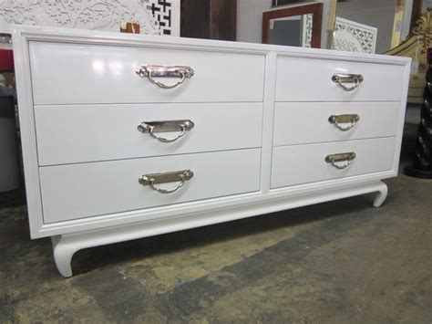 White Lacquered Asian Dresser Dallas By Again Again White Bedroom Dressers Chests