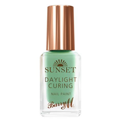 M Sunset barry m sunset nail paint 12 empire state of mint 10 ml