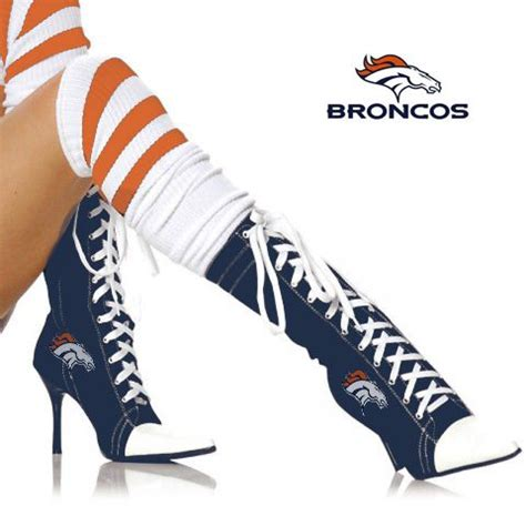 denver broncos high heels 17 best images about broncos on denver