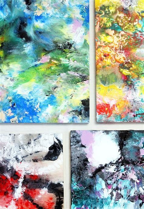 acrylic painting methods alisa burke marbled acrylic painting easy way to