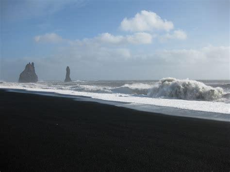 black sand beach iceland iceland black sand beach by havocman on deviantart