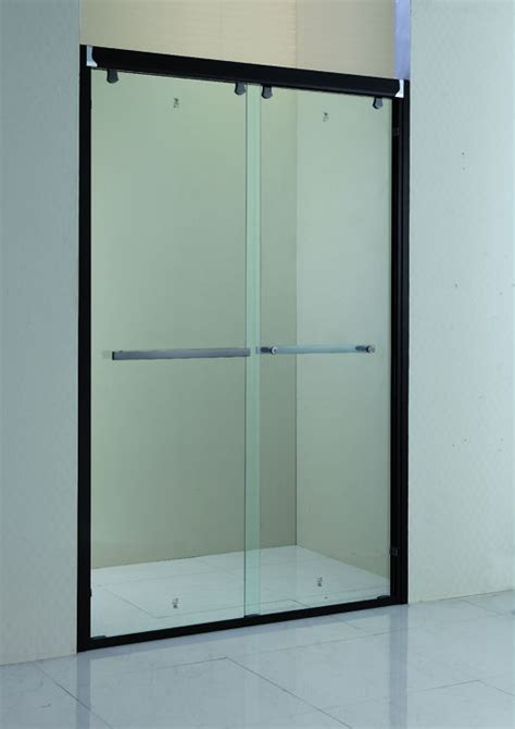 Inexpensive Shower Doors Cheap Only Black Frame Fiberglass Sliding Shower Door Prices Kd6018 Buy Shower Door Frame