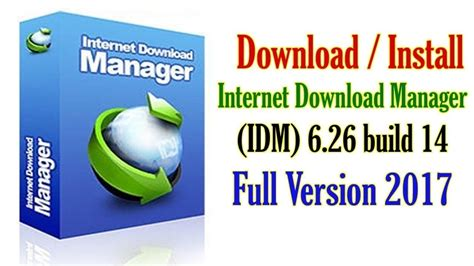 internet download manager make full version internet download manager idm full version 2017 download