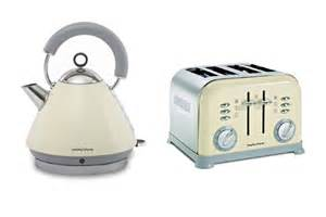 Morphy Richards Kettle And Toaster Morphy Richards Metallic Accents Kettle And Retro 4 Slice