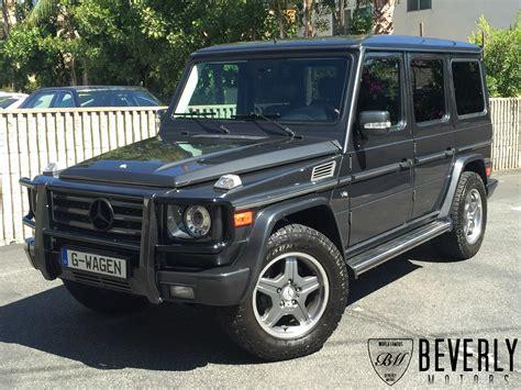 2005 mercedes g500 for sale grey on black beverly
