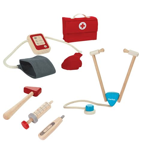 plan set plan toys doctor set thetot