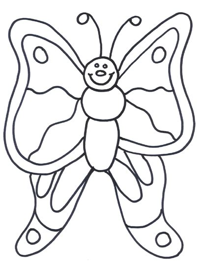 cartoon butterfly coloring pages image search results